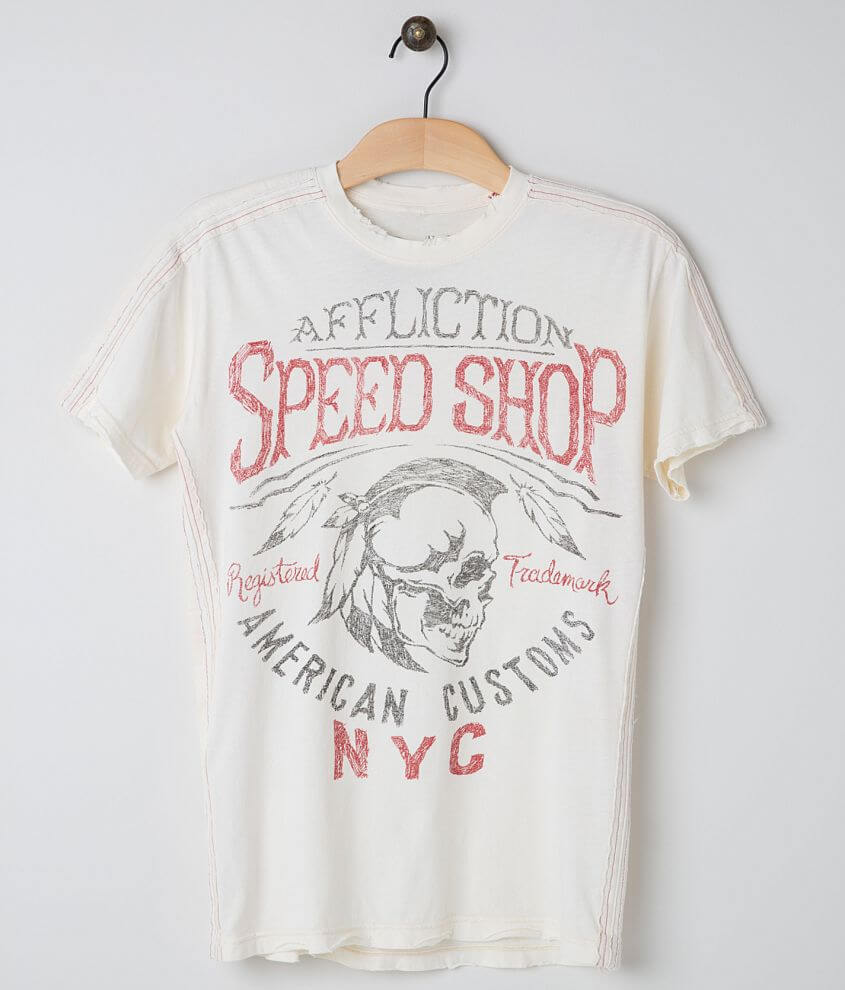 Affliction American Customs Thunder T-Shirt front view