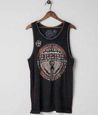 Affliction American Customs Union Tank Top