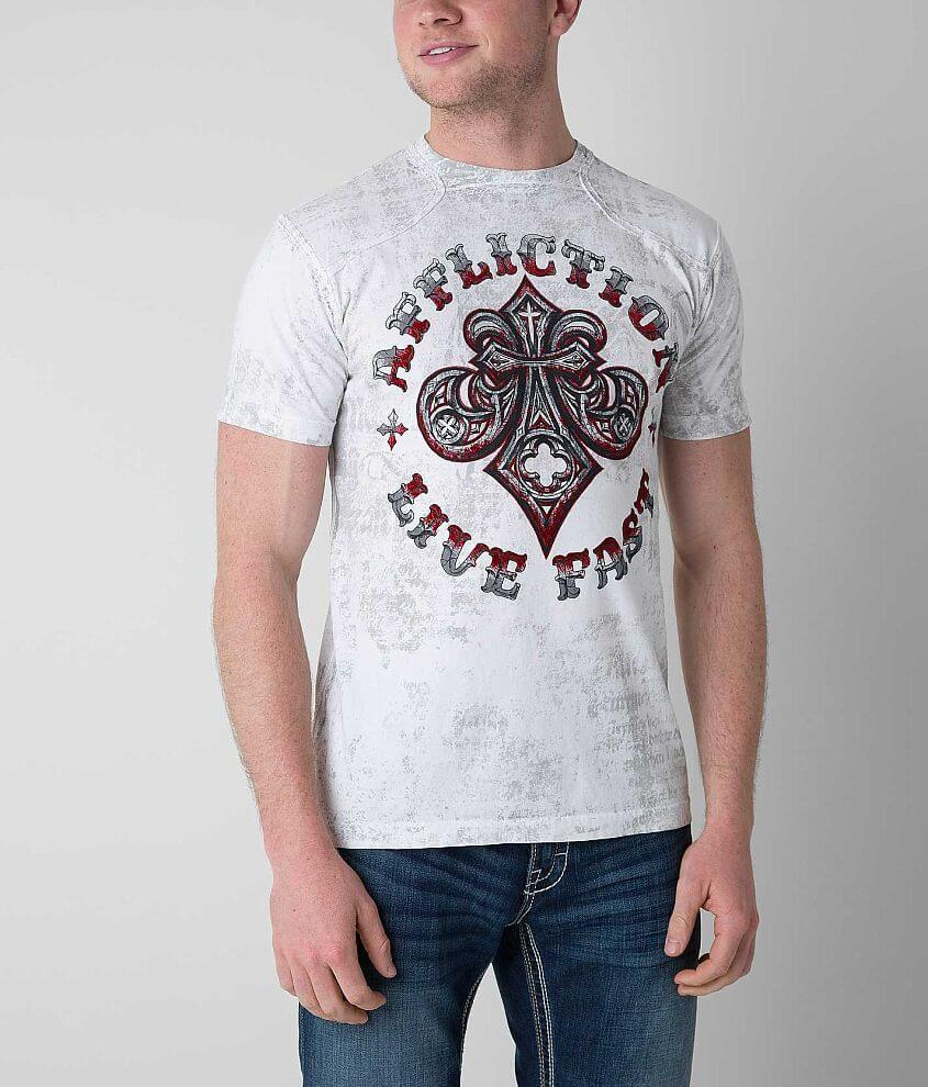 Affliction Royale Connect T-Shirt front view