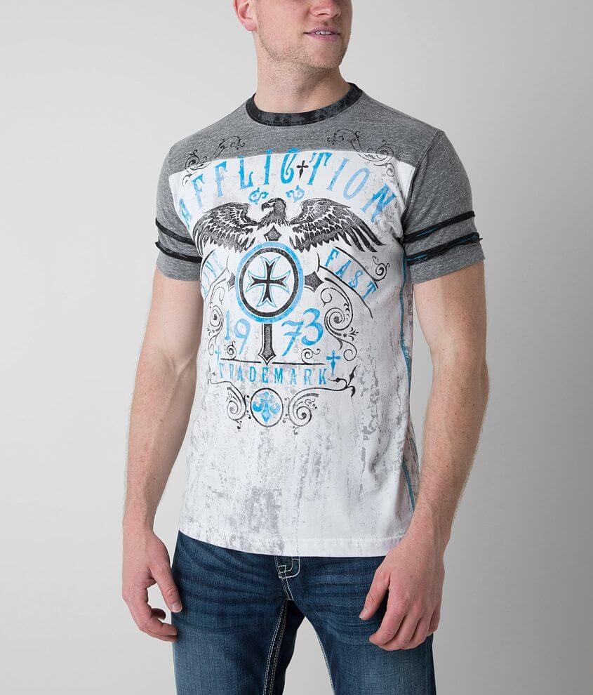 Affliction American Customs Higher Cast T-Shirt front view