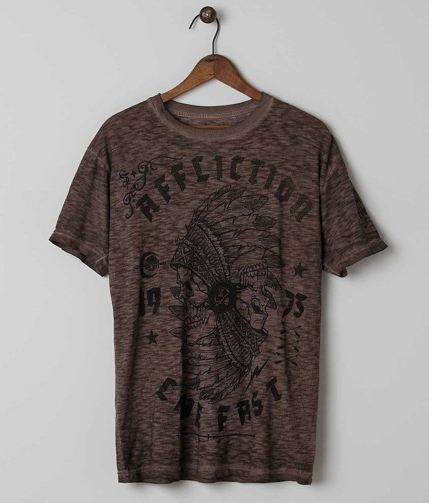 Affliction Fatal Hour T-Shirt front view