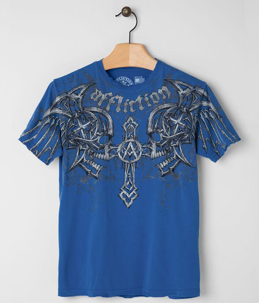 Affliction Screaming Moon T-Shirt front view