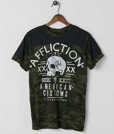 Affliction American Customs Undertaker T-Shirt