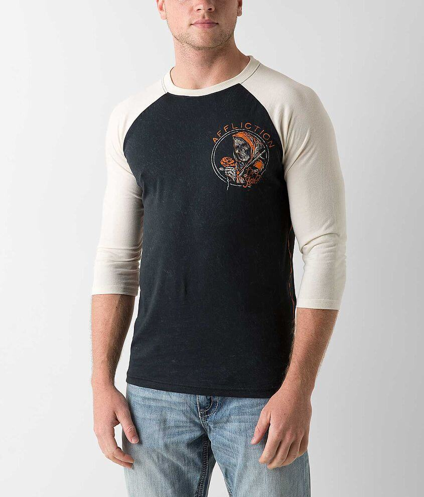 Affliction American Customs Ride or Die T-Shirt front view