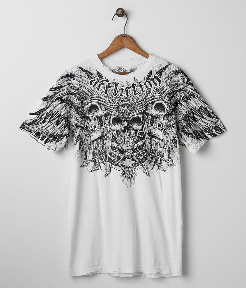 Affliction Ritual Sacrifice T-Shirt front view