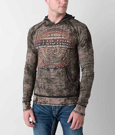 Affliction Union Chrome Reversible Hoodie