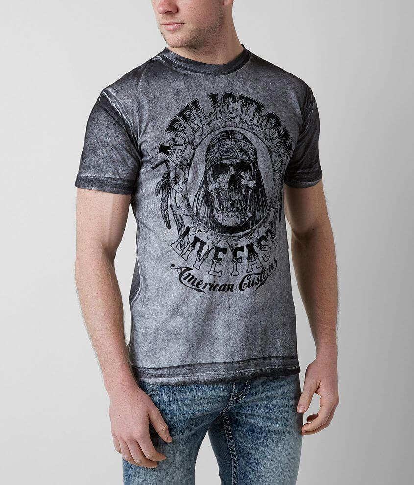 Affliction American Customs Hatchet T-Shirt front view