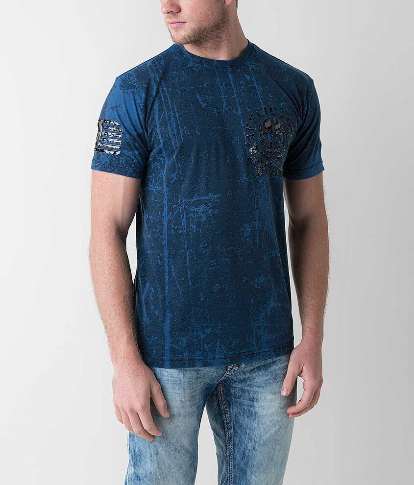 Affliction American Customs Defenders T-Shirt front view