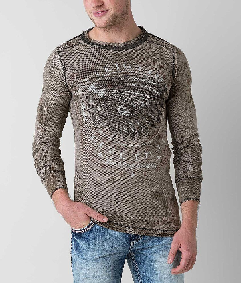 Affliction American Customs Native Muscle Thermal front view