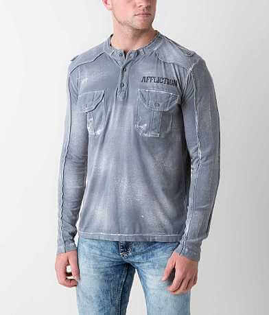 Affliction Standard Agitator Henley