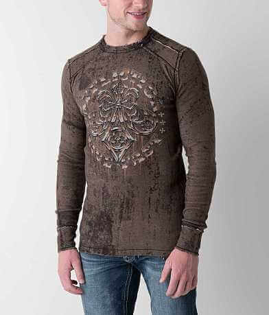 Affliction Royal Lord Reversible Thermal Shirt