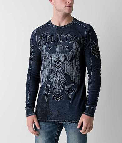 Affliction Disjointed Reversible Thermal Shirt