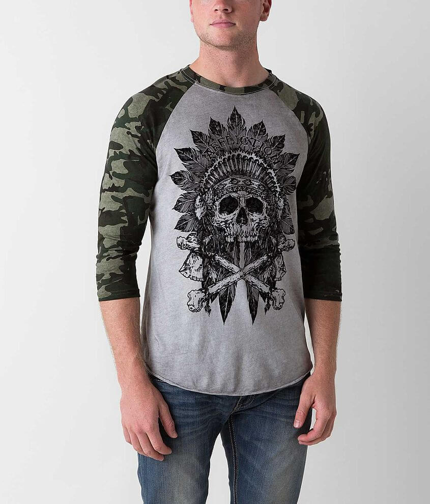 Affliction American Customs Apache Trust T-Shirt front view
