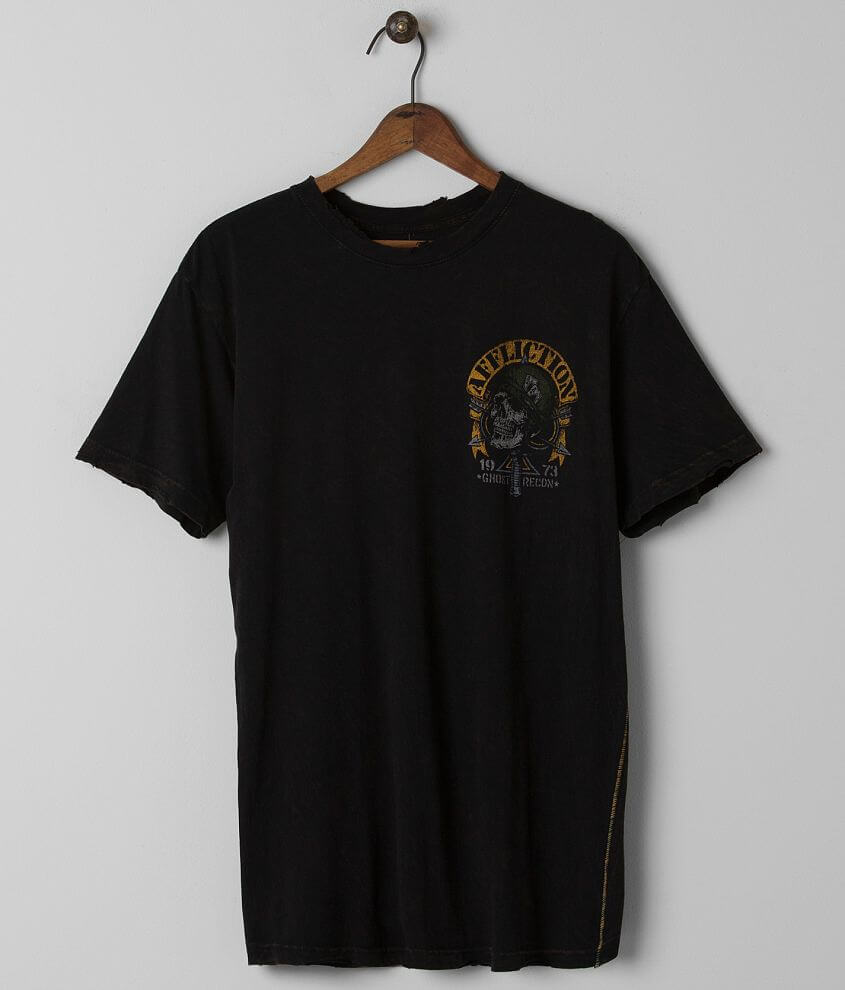 Affliction American Customs Ghost Recon T-Shirt front view