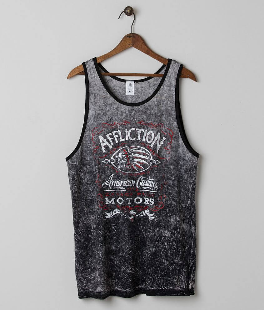 Affliction Prohibition Reversible Tank Top front view