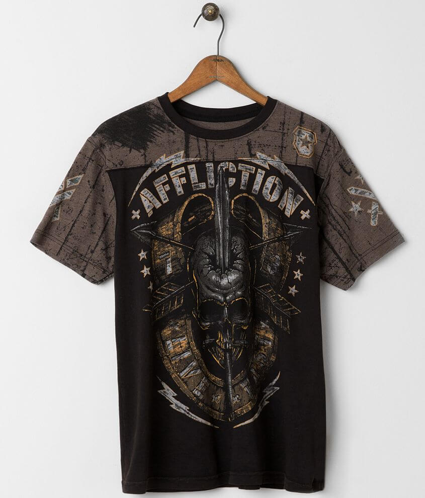 Affliction Bravo T-Shirt front view
