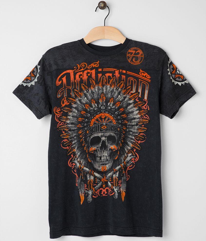 Affliction Apache T-Shirt front view