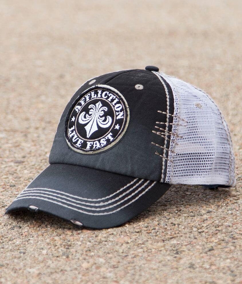 Affliction Divio Trucker Hat front view