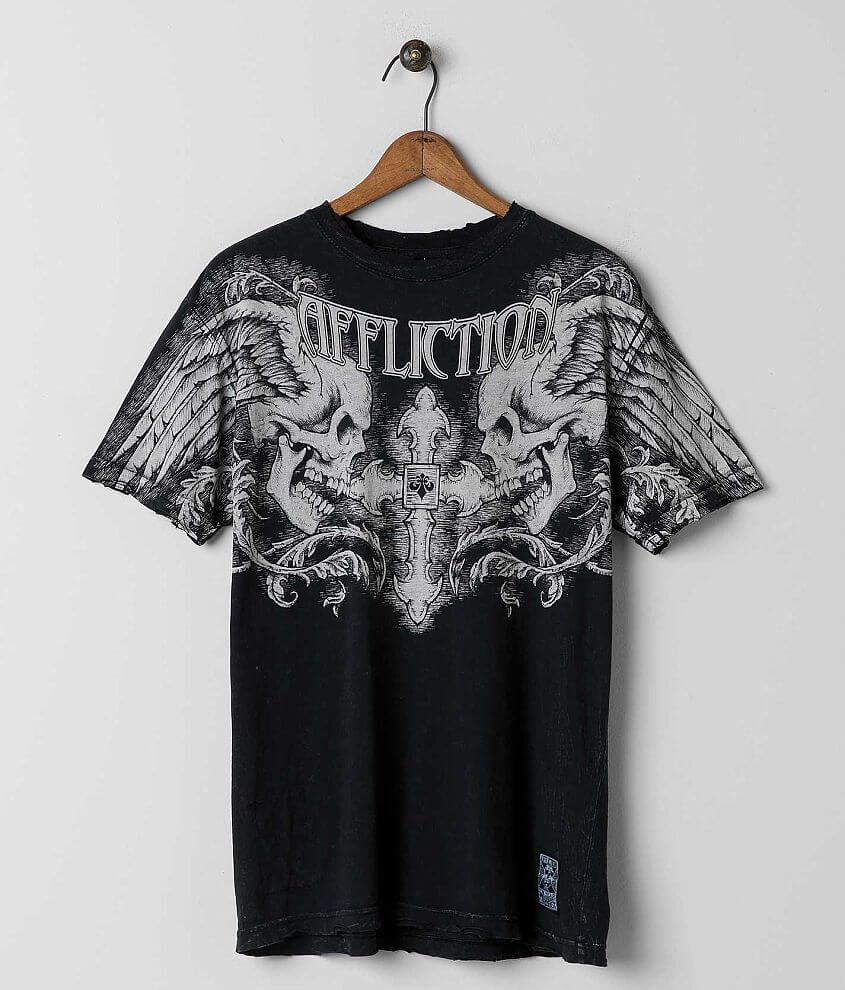 Affliction Ten Year Anniversary Winged Up T-Shirt front view