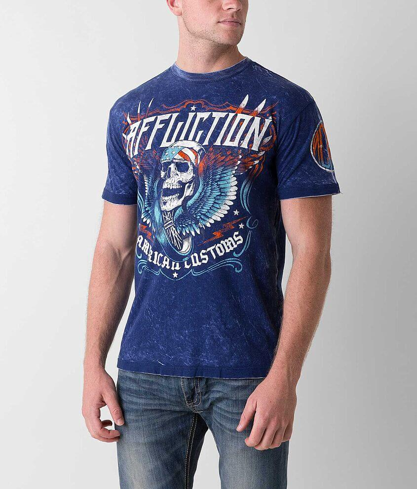 Affliction Thunder Clap Reversible T-Shirt front view