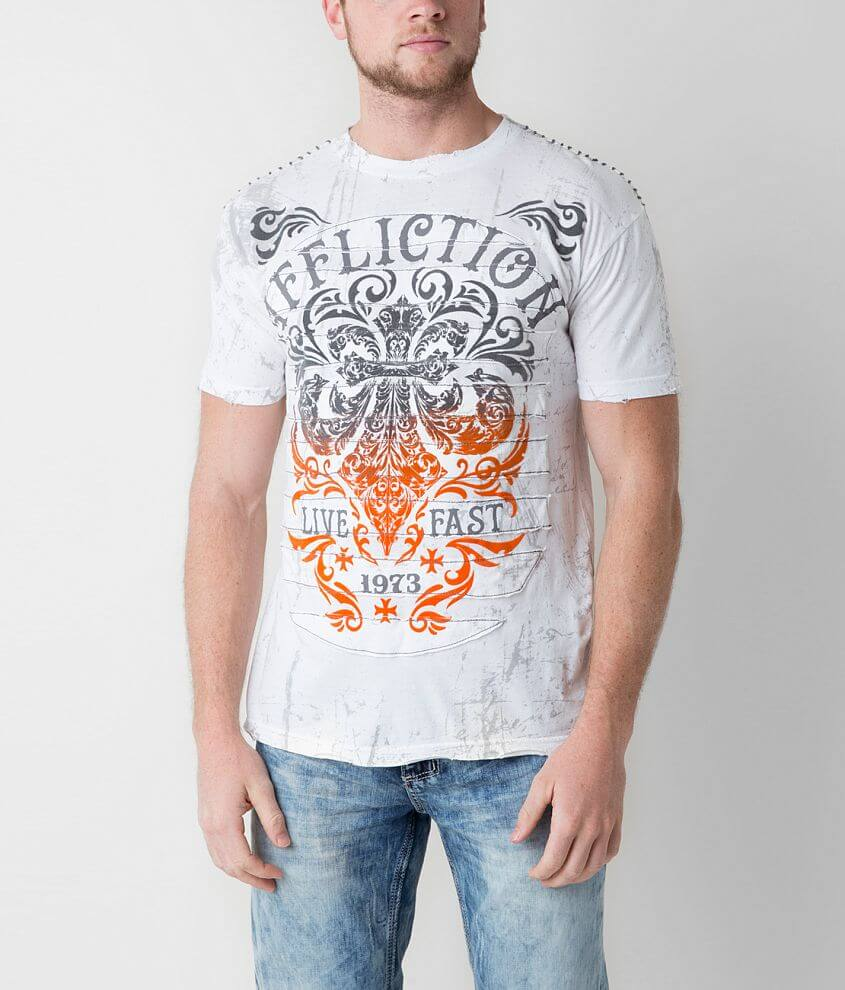 Affliction Truth & Consequence T-Shirt front view