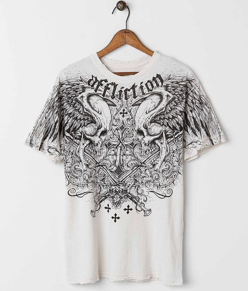 Affliction Sword Eater T-Shirt front view