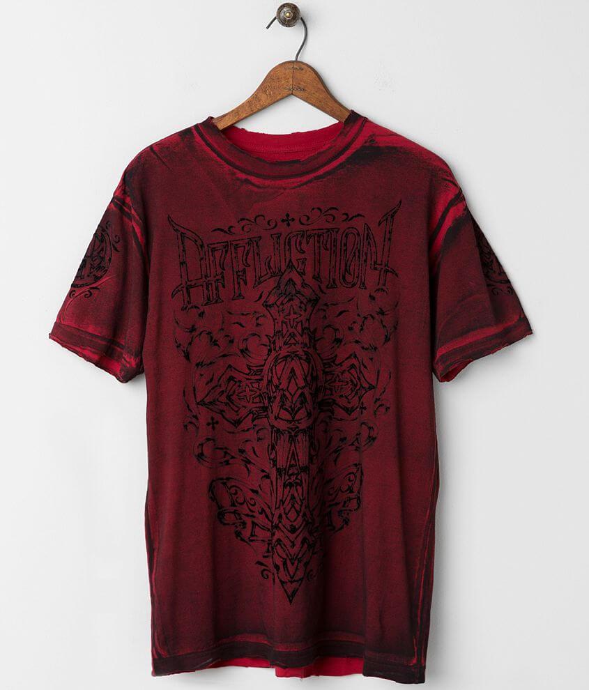 Affliction Spiker Impact T-Shirt front view