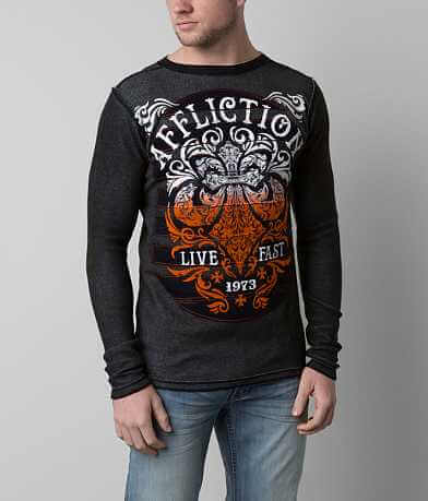 Affliction Truth & Consequence Thermal Shirt