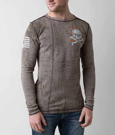 Affliction American Customs Defender Thermal Shirt