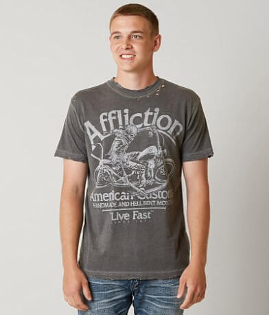 Affliction American Customs Midnight Run T-Shirt