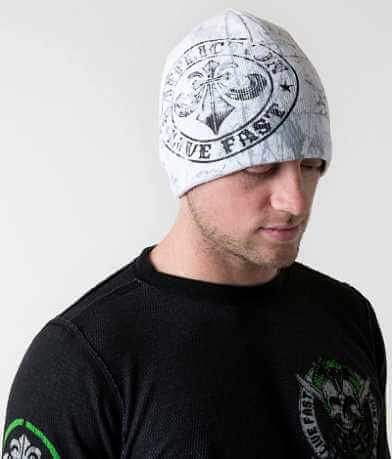 Affliction Divio Varnish Reversible Beanie