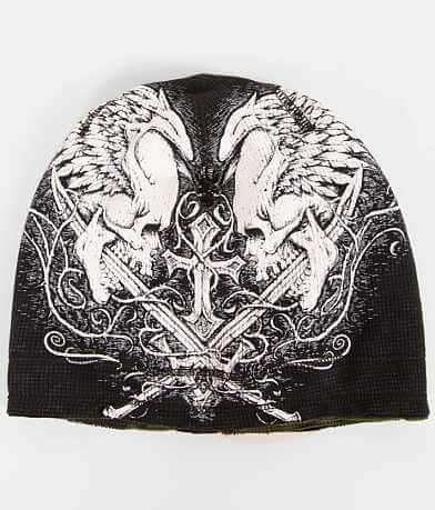 Affliction Sword Eater Reversible Beanie