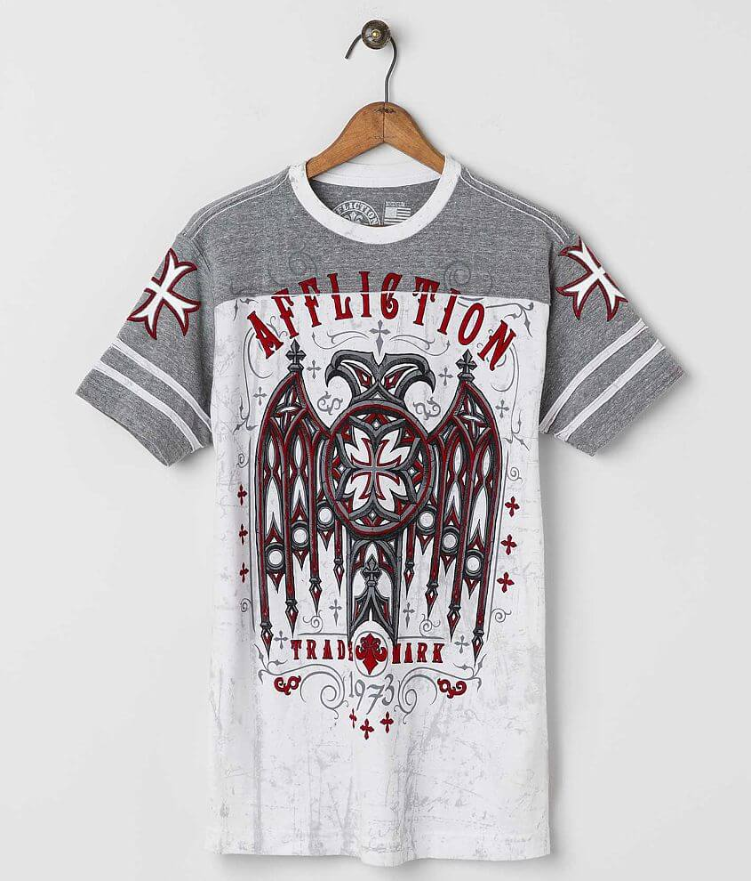 Affliction Eagle Dare T-Shirt front view