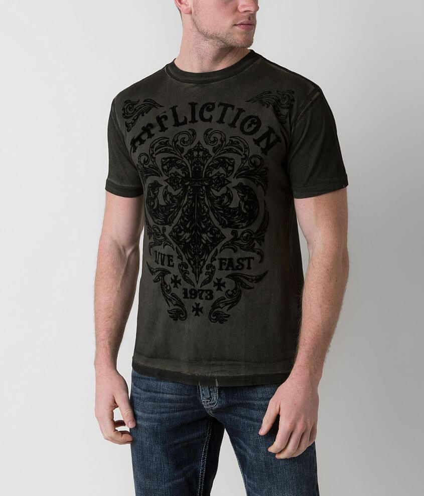 Affliction Dark Consequence T-Shirt front view