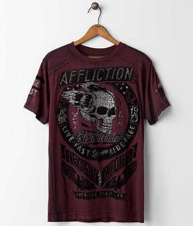 Affliction American Customs Fast Motors T-Shirt