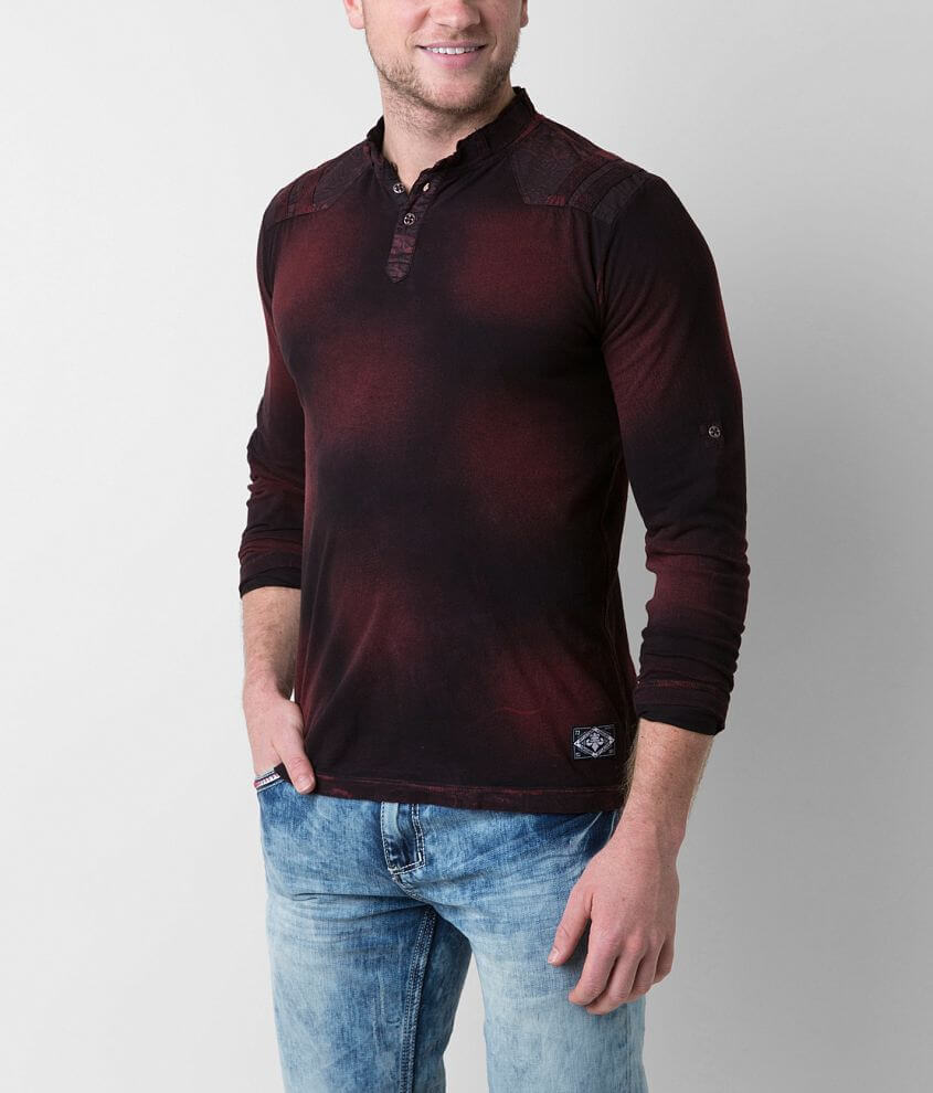 Affliction Standard Division Henley front view