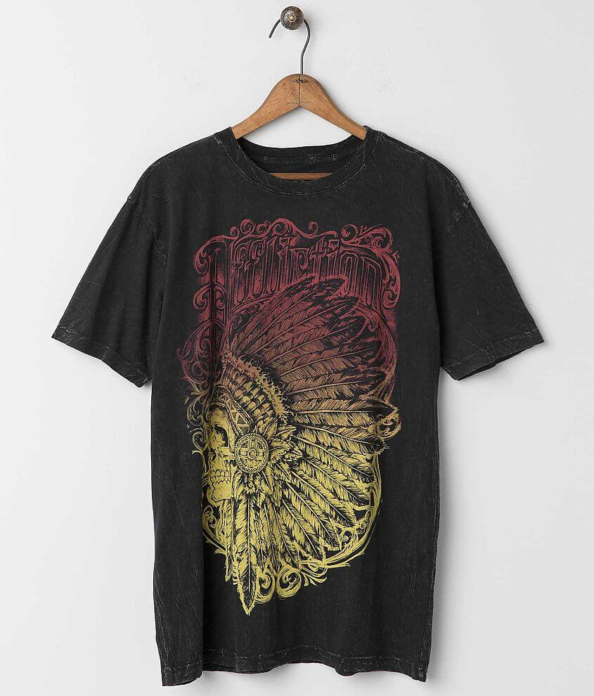 Affliction Chief Feather T-Shirt front view