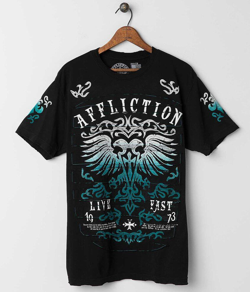 Affliction Dark Ages T-Shirt front view