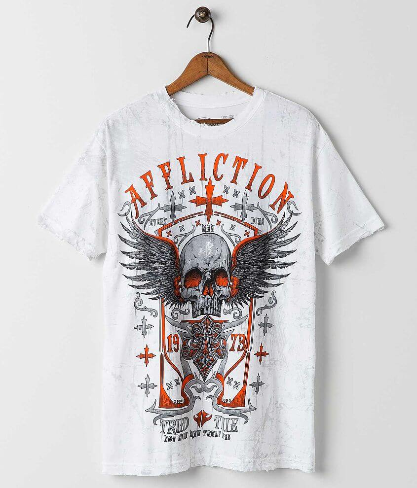 Affliction Age of Man T-Shirt front view