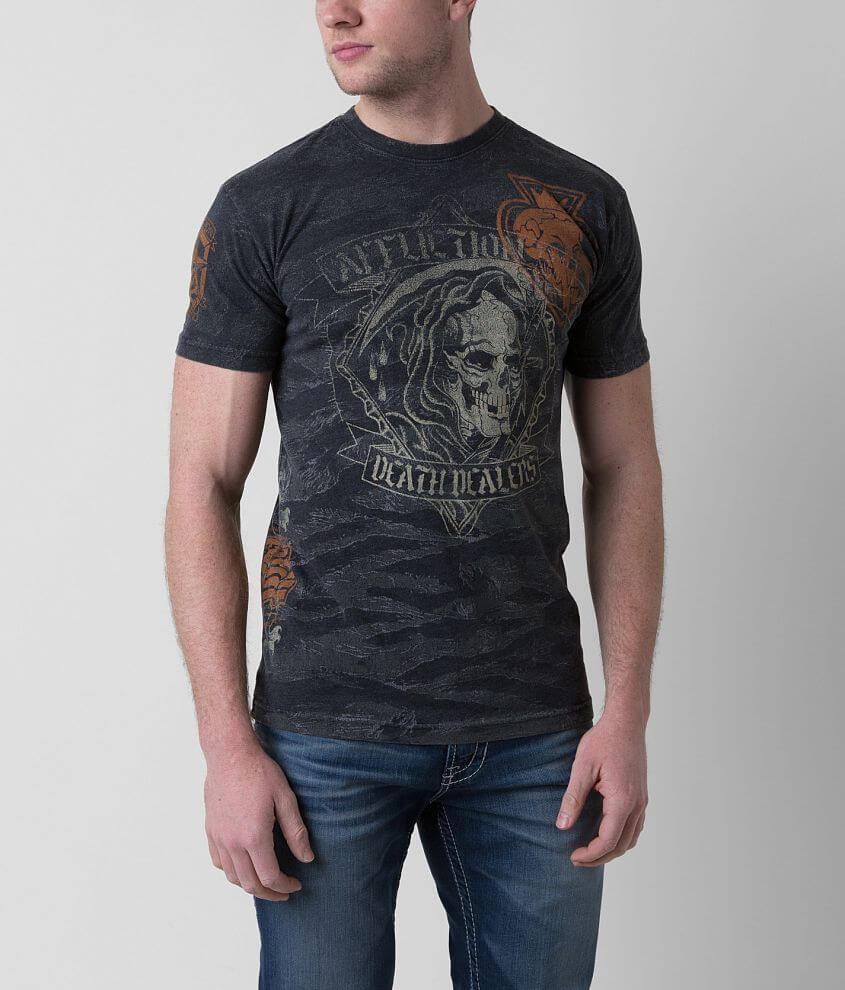 Affliction Death Dealers T-Shirt front view