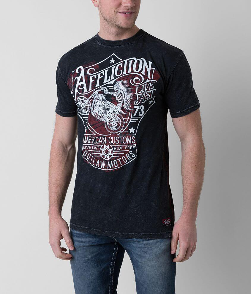 Affliction Snake River Outlaw T-Shirt front view