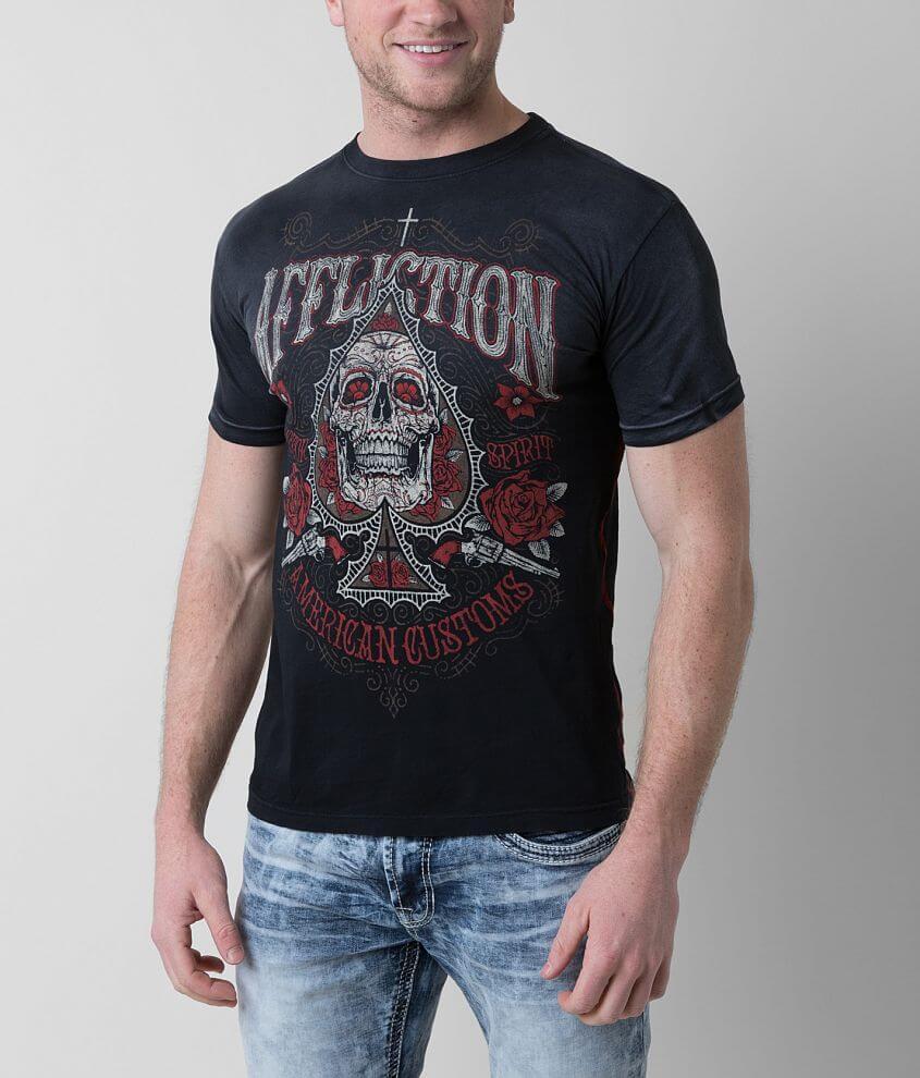 Affliction Velasquez Espada T-Shirt front view