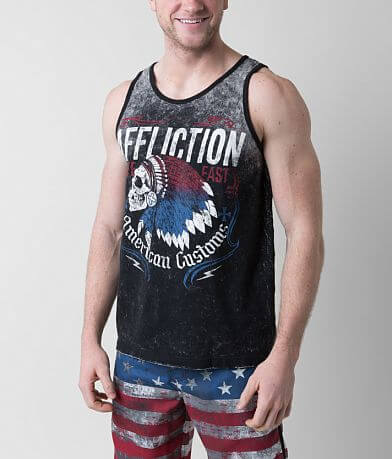 Affliction Tomahawk Reversible Tank Top