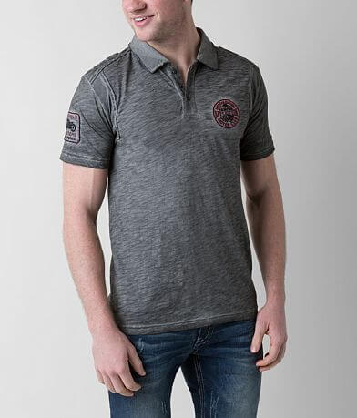 Affliction American Customs Standard Pledge Polo
