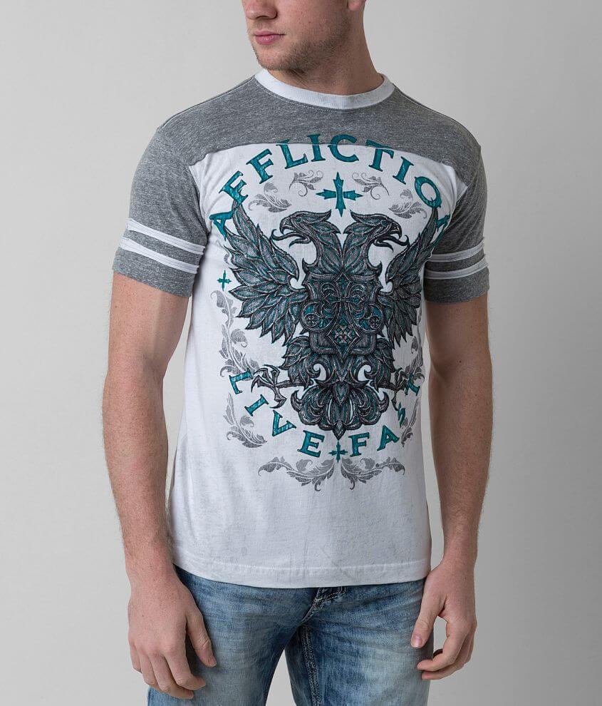 Affliction Razor Flight T-Shirt front view