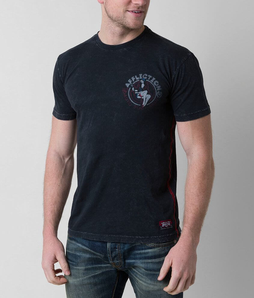 Affliction American Customs Wrench T-Shirt front view
