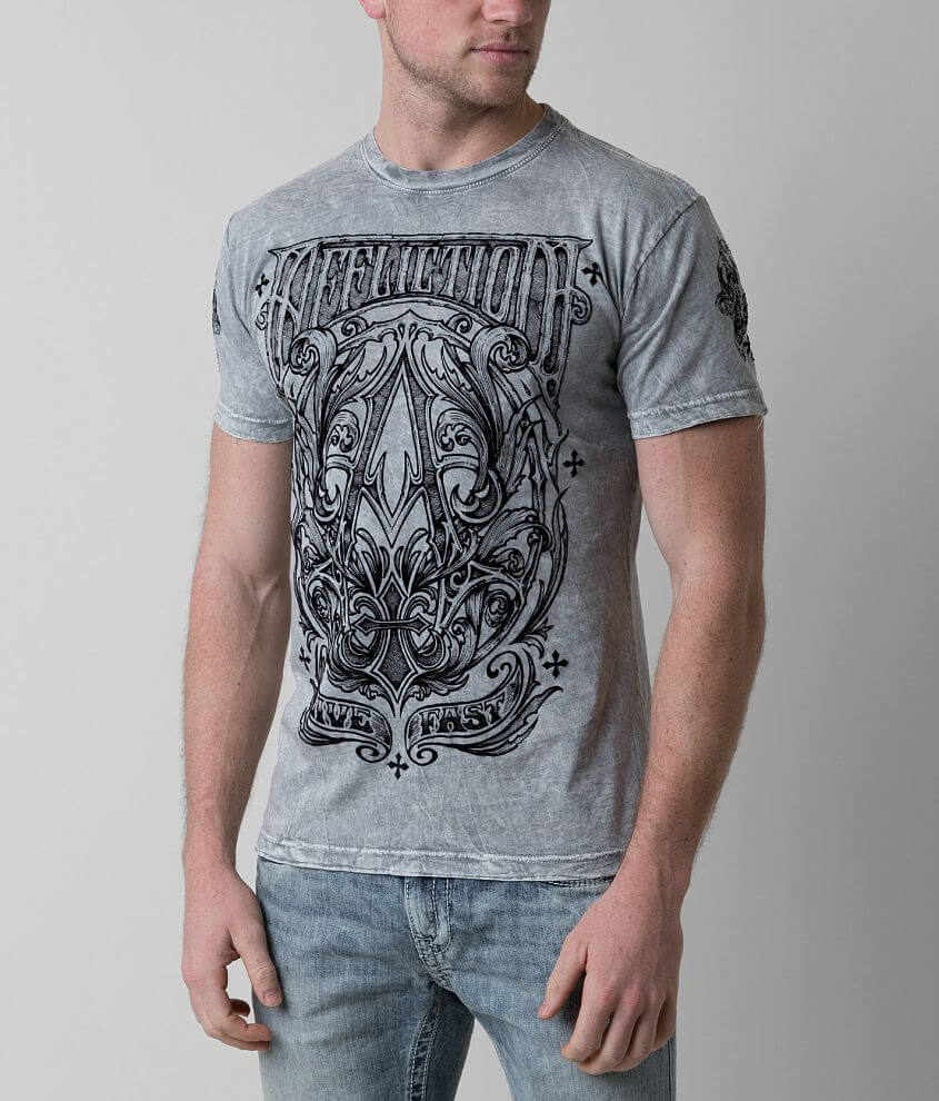 Affliction A Frame Reversible T-Shirt front view