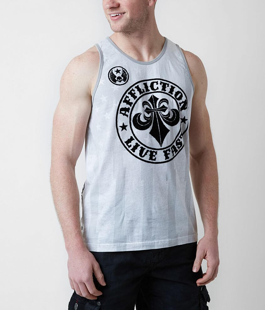 Affliction Divio Tank Top front view