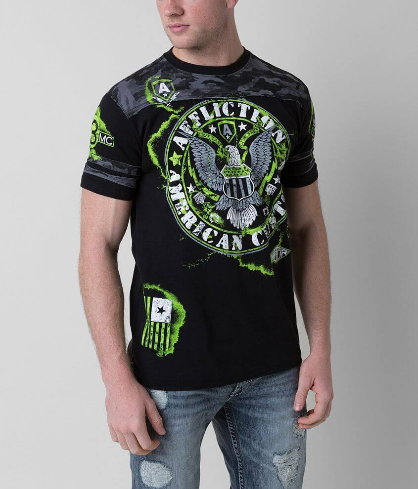 Affliction American Customs Eagle T-Shirt front view