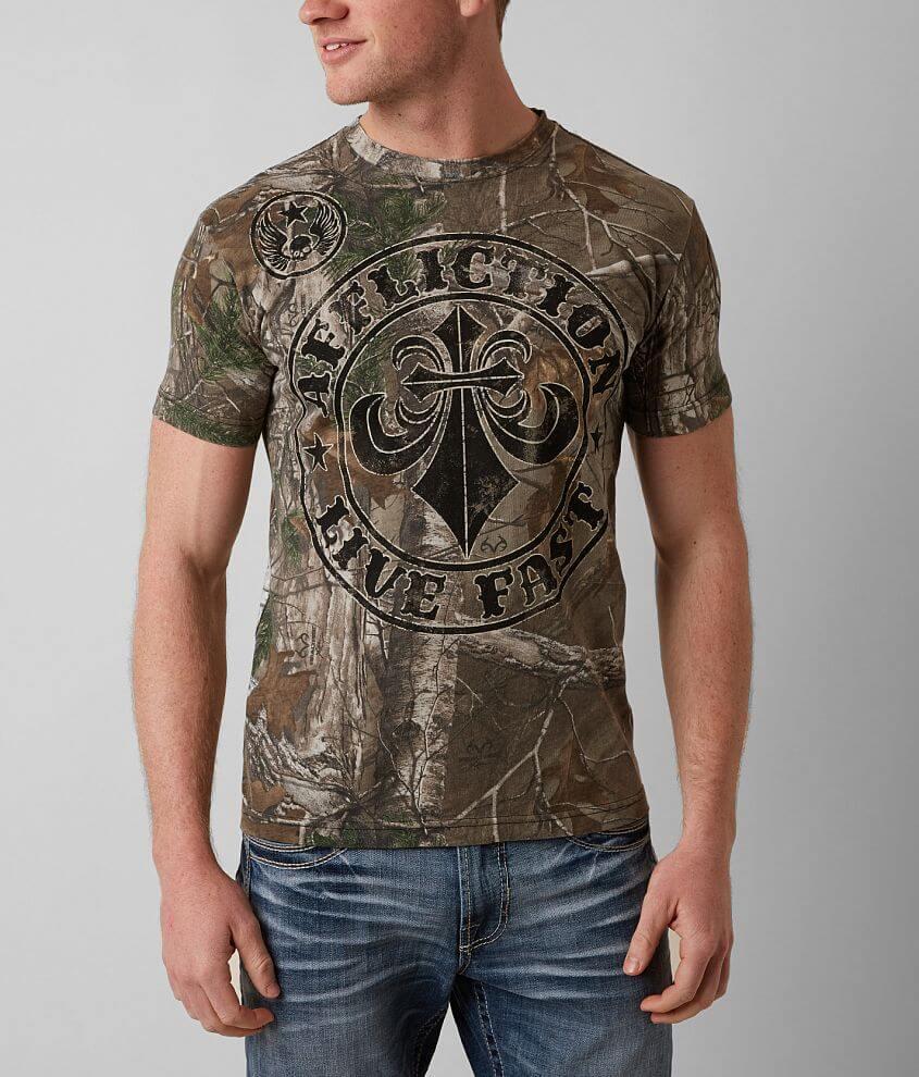 Affliction Divio Smash T-Shirt front view